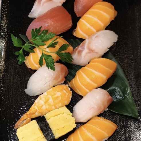 sushis assortiment